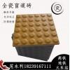 专供江苏省黄色圆点盲道砖-众光防腐防滑盲道砖6